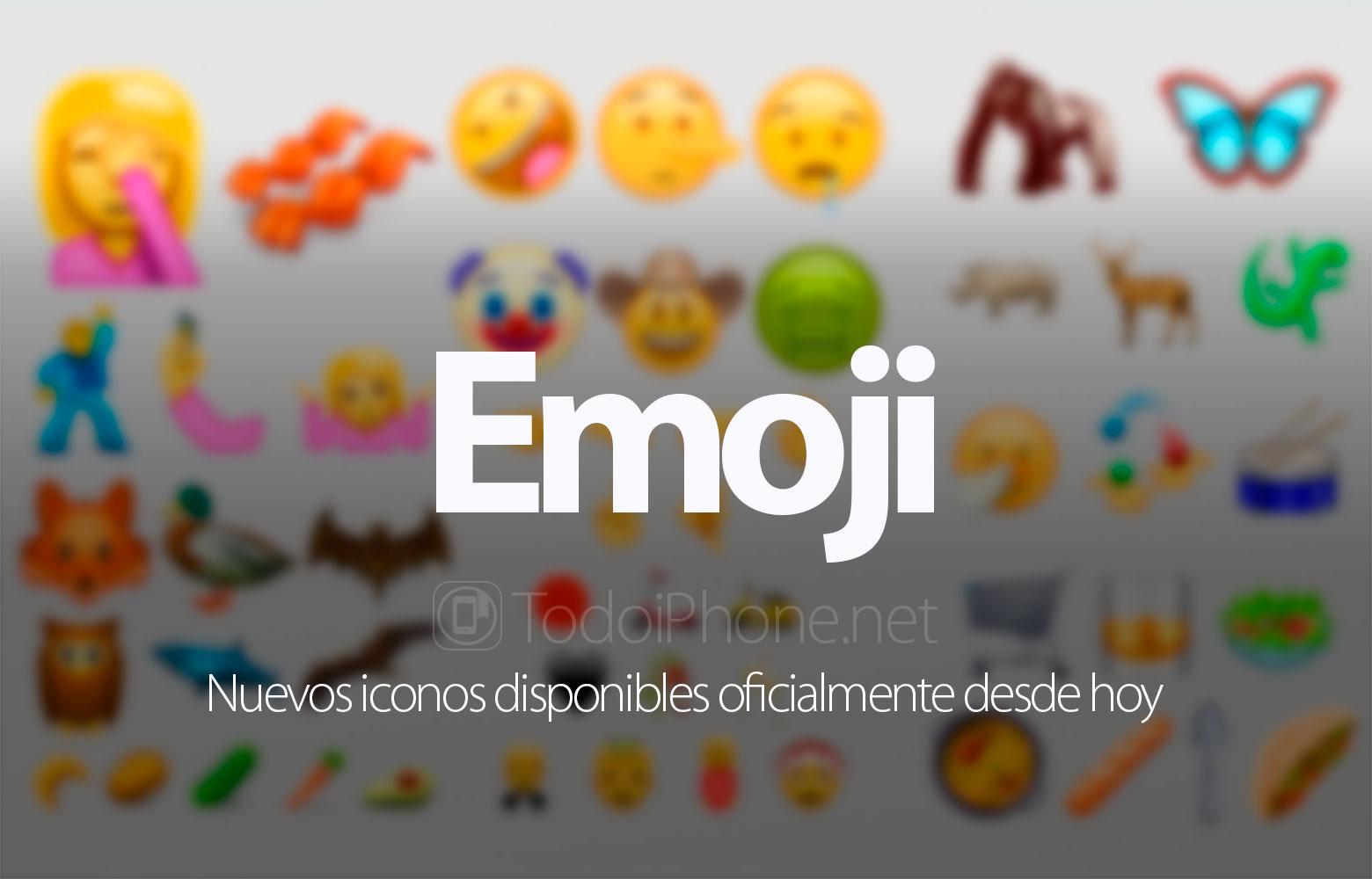 Emoji: 72 nuevos iconos disponibles desde hoy