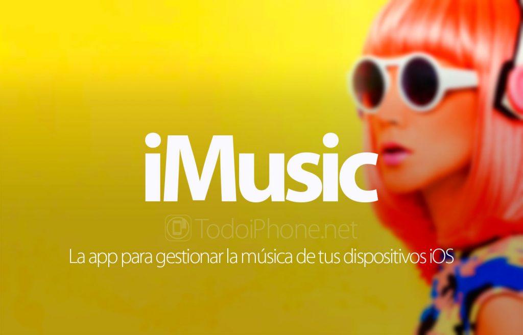 iMusic, la aplicación para gestionar la música de tus dispositivos iOS