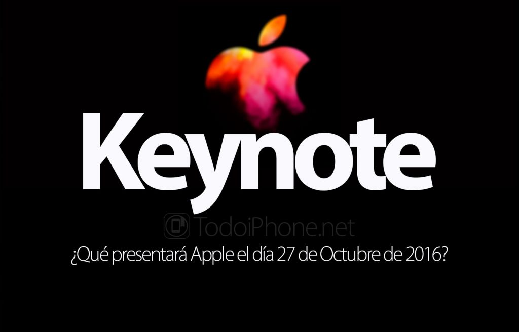"""Keynote el d�a 27, �Que presentar� Apple"""""""