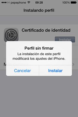 Como Instalar Certificado Digital iPhone iPad - Instalacion