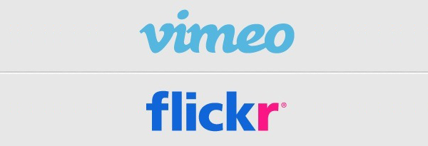Flickr Vimeo iOS 7 Integration