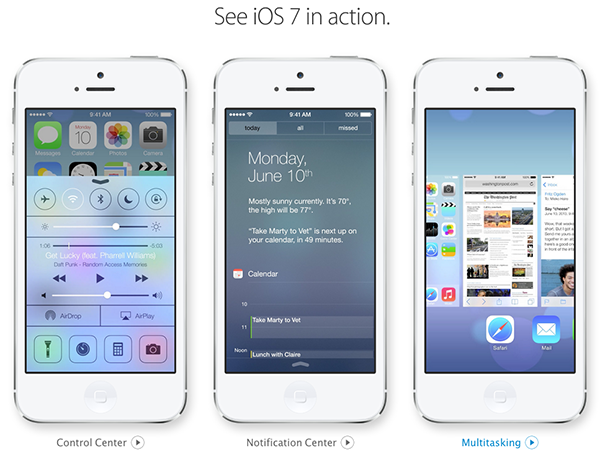 iOS 7 in Action - Apple Official Page
