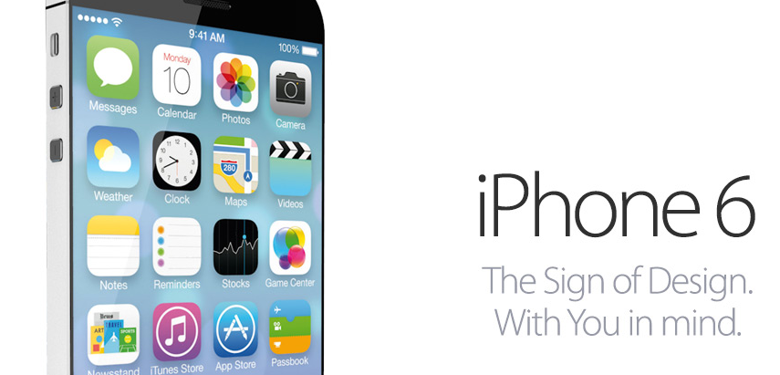 iPhone 6 Concept With iOS 7