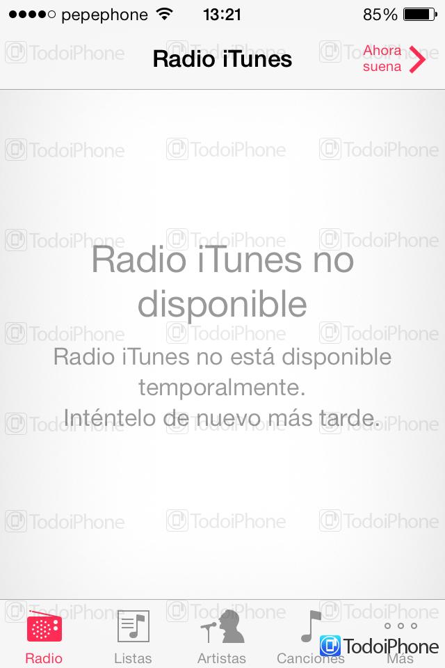 iTunes Radio España - 2