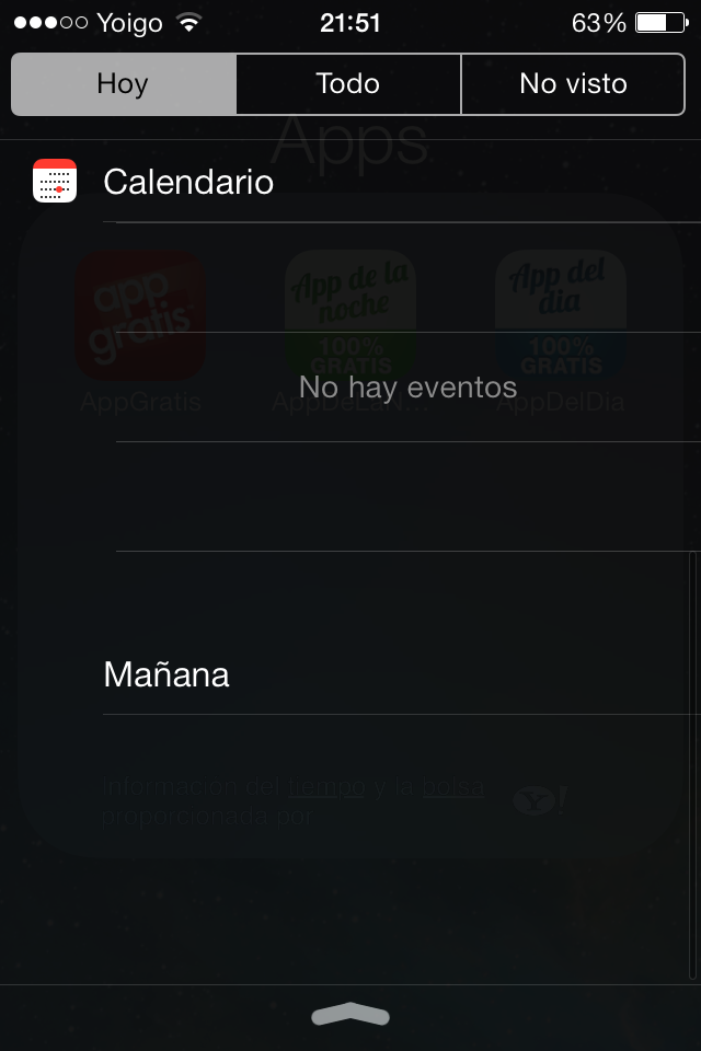 Yahoo!!! Notification Center