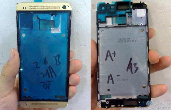 HTC One - Color Oro y Azul