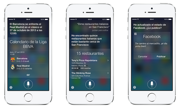 Siri Sale de Beta con iOS 7 - 2