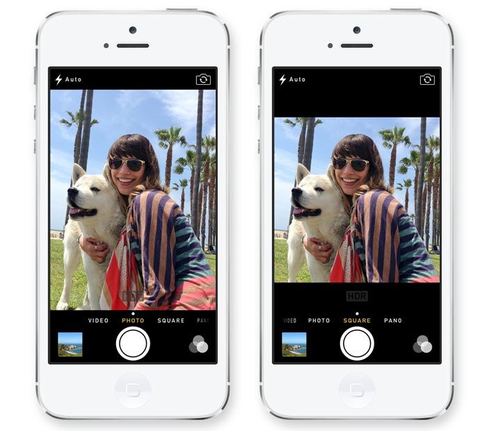 iO7 vs iOS 6 - Novedades de Uso - Camara