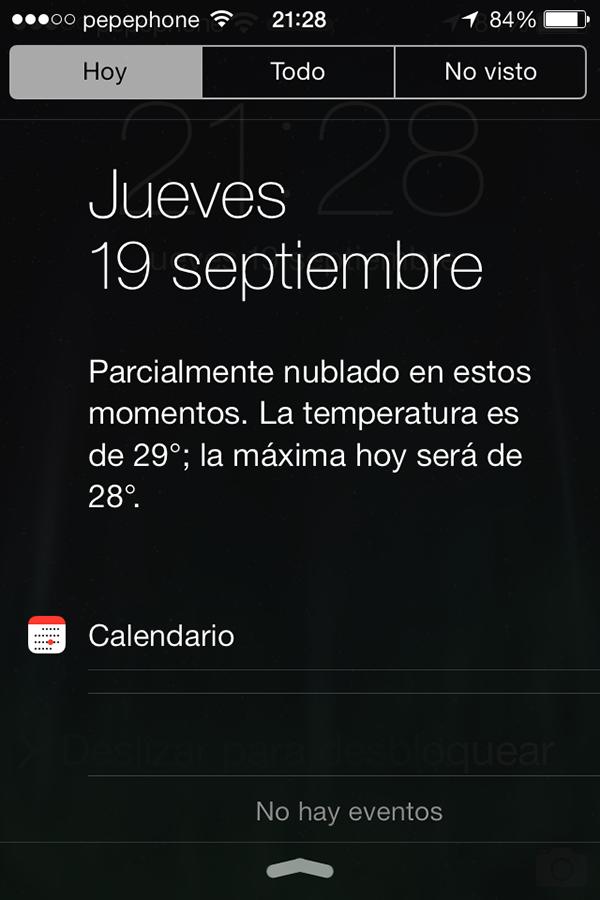 iO7 vs iOS 6 - Novedades de Uso - Centro Notificaciones