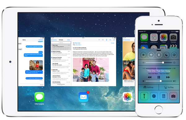 iOS 7 Apple - iPhone y iPad