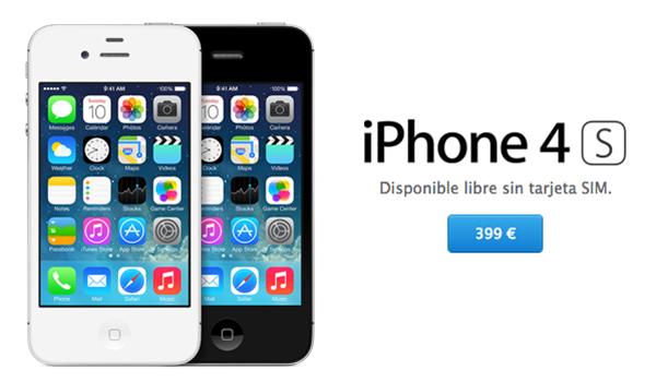 iPhone 4S Disponible App Store