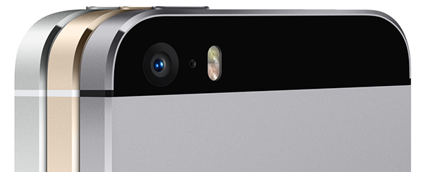 iPhone 5S iSight Camara