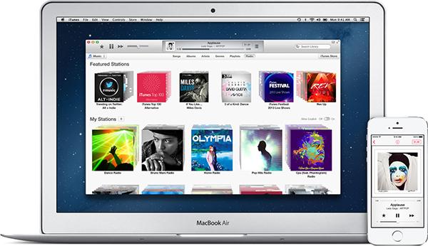 iTunes 11.1 Portada