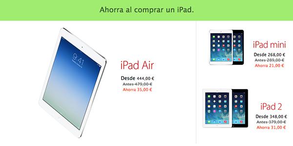 Black Friday Apple 29 Nov Descuentos - iPad