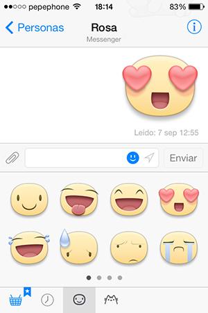 Facebook Messenger - Stickers