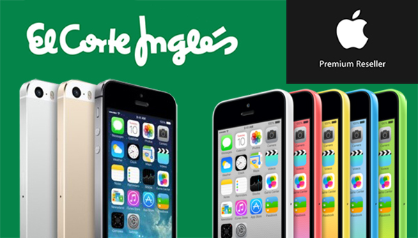 iPhone 5s iPhone 5c Libre Corte Ingles - APR