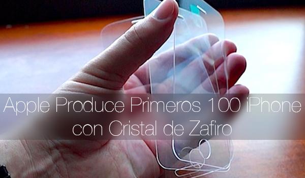 100 iPhone Cristal Zafiro