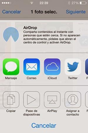 AirDrop Enabler iOS 7 - iPhone 4