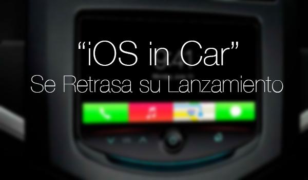 iOS in Car - Retrasa Debut