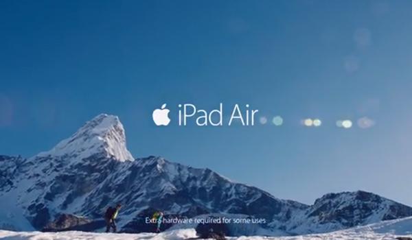 iPad Air - Anuncio TV