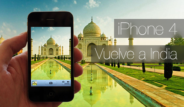 iPhone 4 Relanzado India