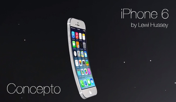 iPhone 6 by Lewi Hussey - Concepto