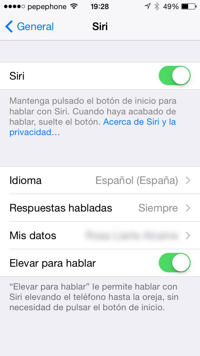Siri iOS 7.1 - screenshot 2