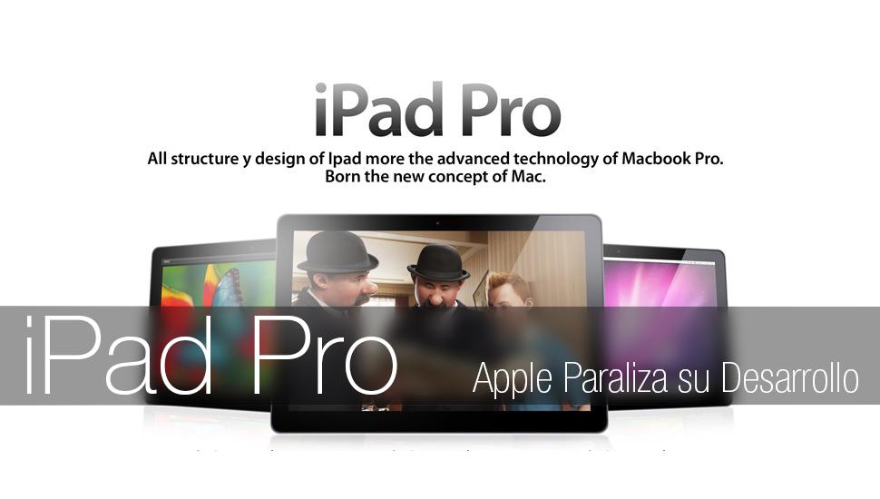 iPad Pro Desarrollo Apple