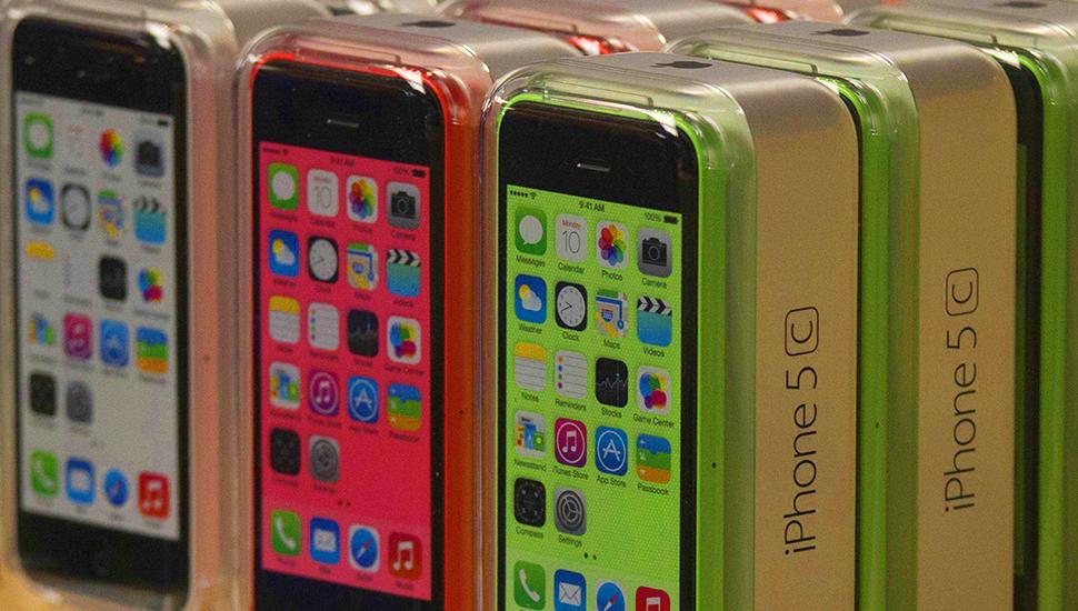 iPhone 5c Plastic Case Boxed
