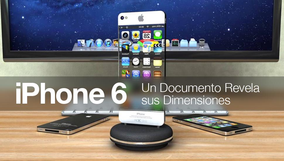 iPhone 6 - documento revela dimensiones