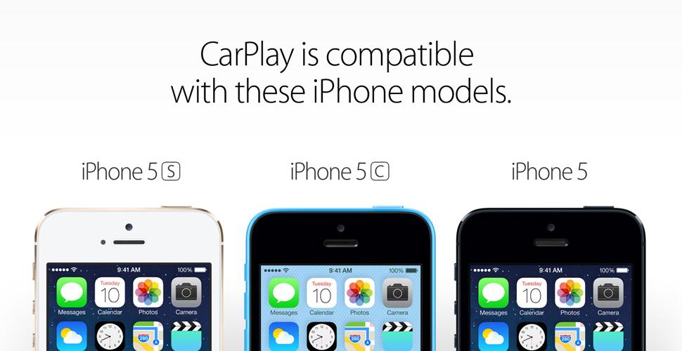 iPhone Compatible CarPlay