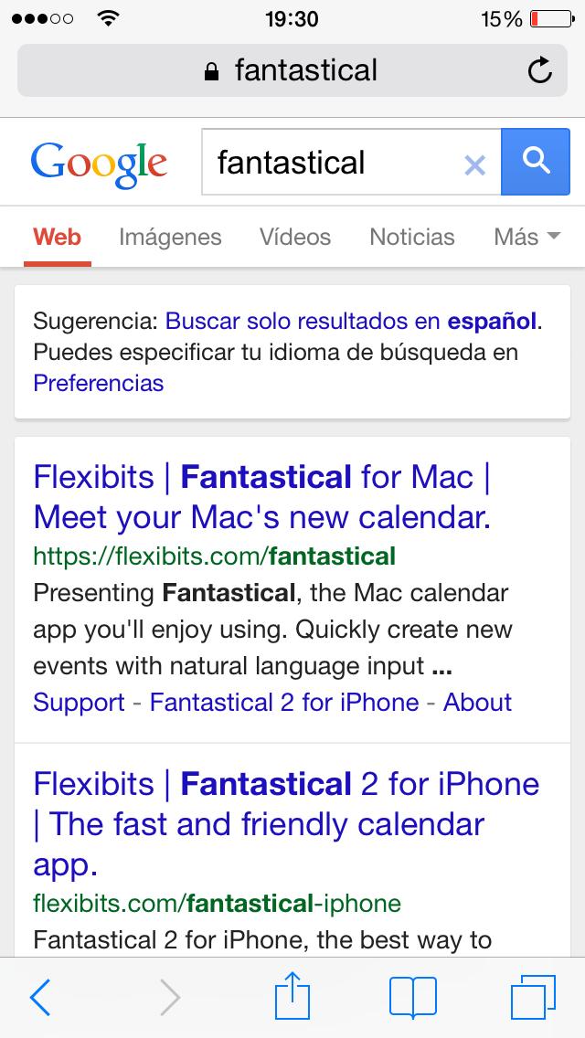Diccionario iOS - screenshot 2