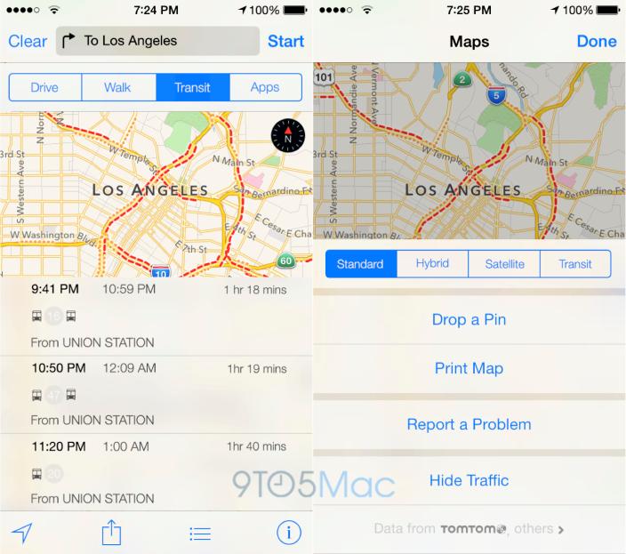 Maps Trafico - iOS 8 Rumor