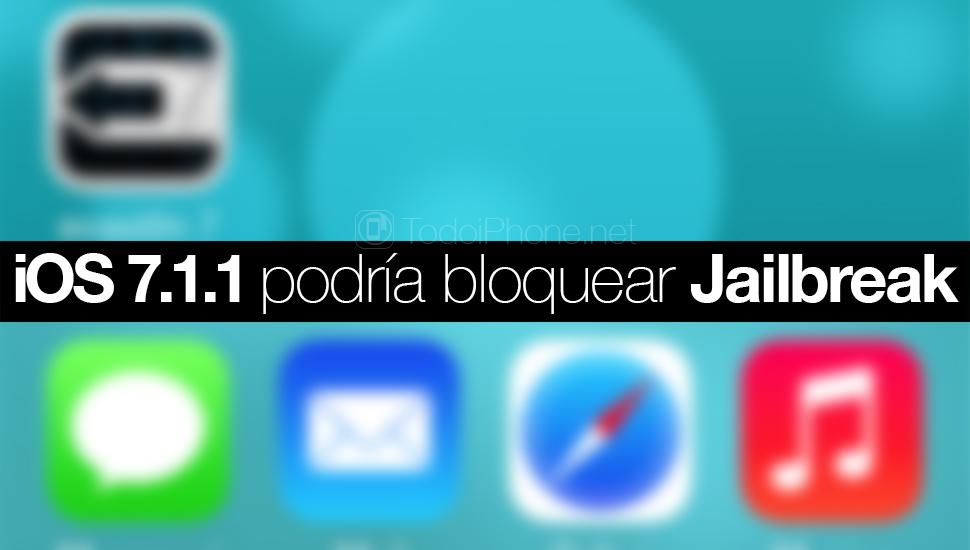 iOS 7.1.1 bloque jailbreak
