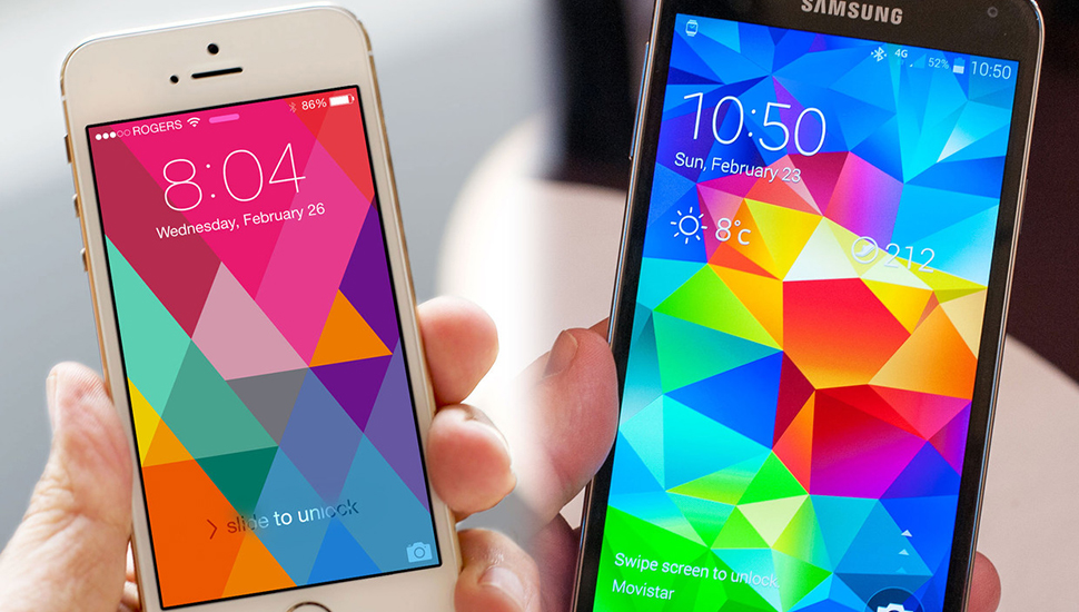iPhone 5 mejor Galaxy S5