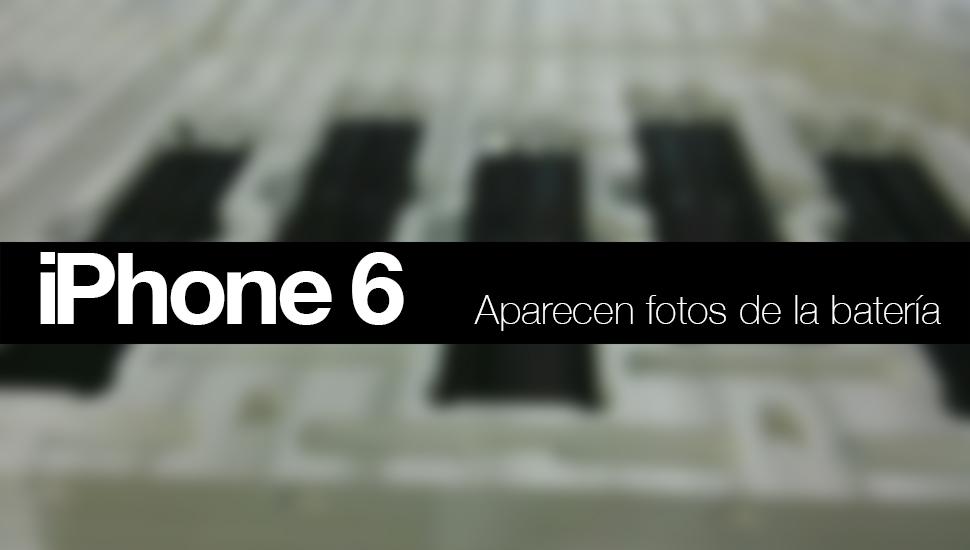 iPhone 6 Bateria Fotos