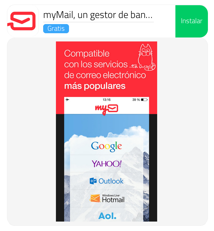 myMail - Descarga iPhone iPad