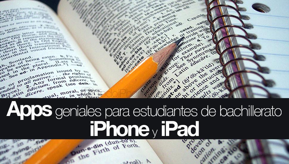 Apps-Estudiantes-Bachillerato-iPhone