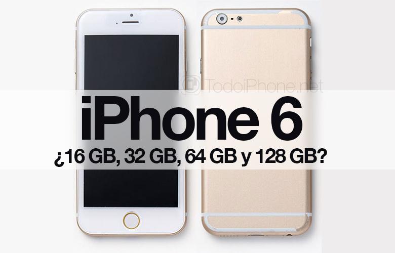 iPhone-6-memoria-16-32-64-128-GB