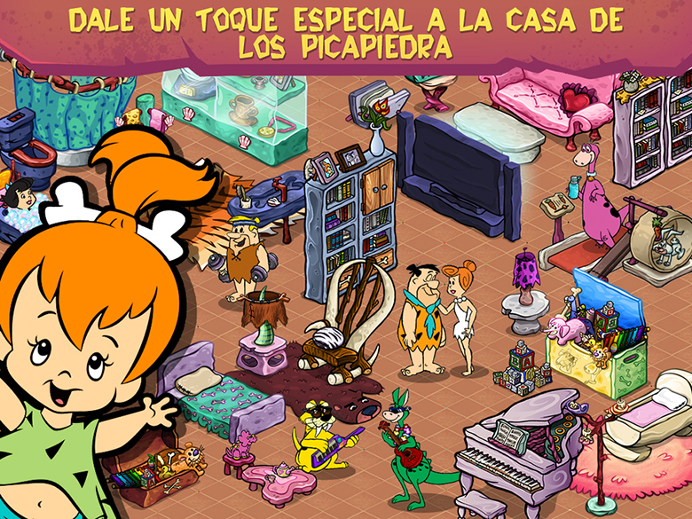 Los-Picapiedra-Reconstruir-Piedradura-iPad-screen-