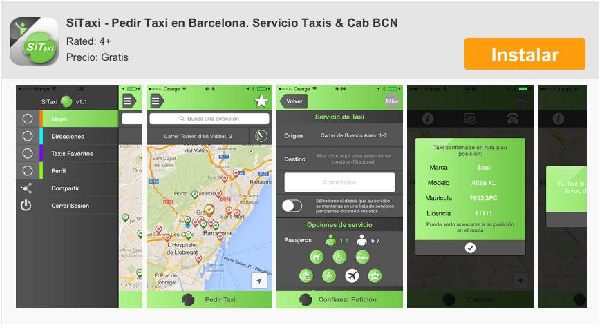 SiTaxi-Pedir-Taxi-iPhone-Barcelona