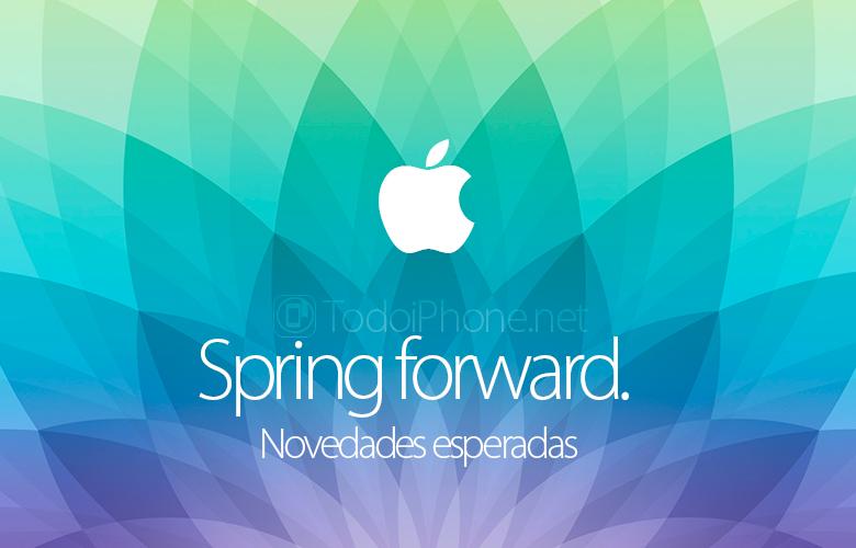spring-forward-novedades-esperadas