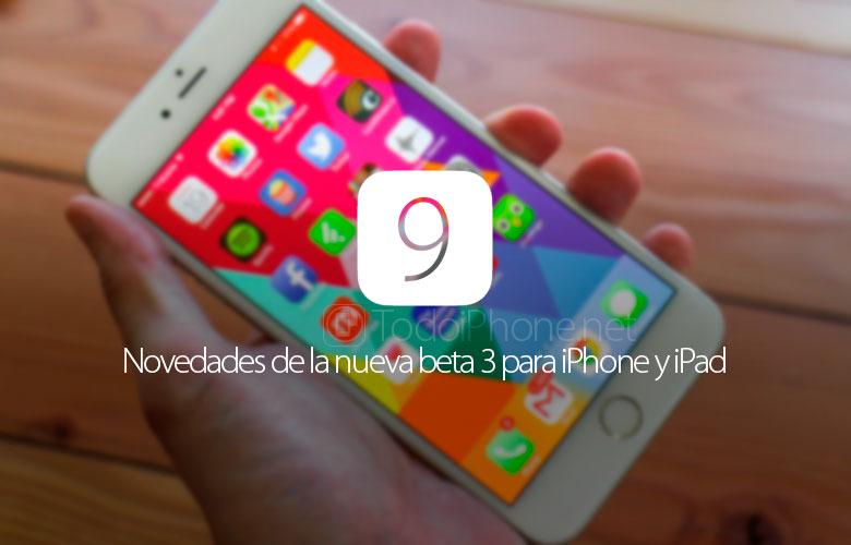 novedades-ios-9-beta-3-iphone-ipad