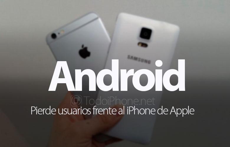 android-pierde-usuarios-frente-iphone