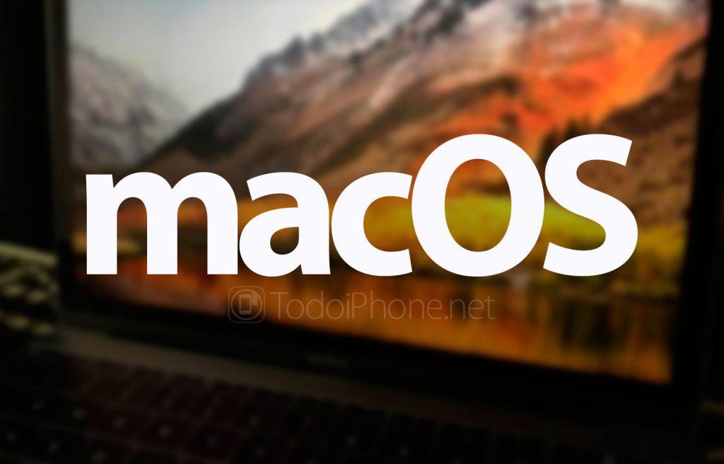 Cómo volver de macOS Mojave a macOS High Sierra